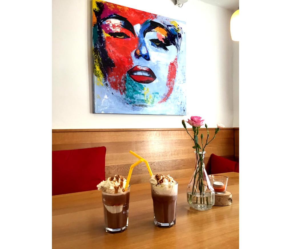 Kunst und Eisschokolade in Nassau