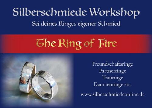 Silberschmiedeworkshop mit Fred Struben im Kunstcafé am Hexenturm